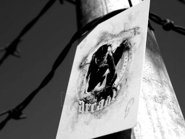 Ellusionist Arcane White Bicycle kortos Paveikslėlis 12 iš 14 251010000262