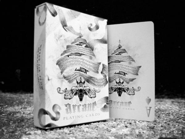 Ellusionist Arcane White Bicycle kortos Paveikslėlis 4 iš 14 251010000262