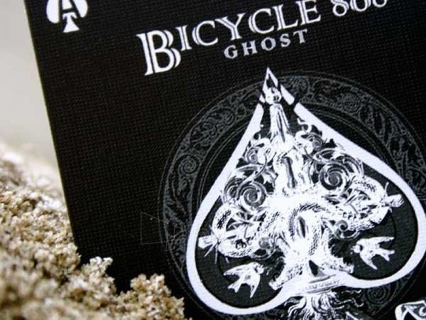 Ellusionist Black Ghost Bicycle kortos Paveikslėlis 10 iš 11 251010000265