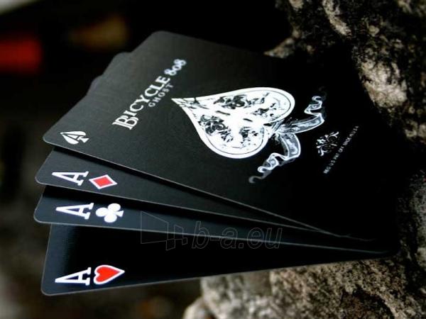 Ellusionist Black Ghost Bicycle kortos Paveikslėlis 9 iš 11 251010000265