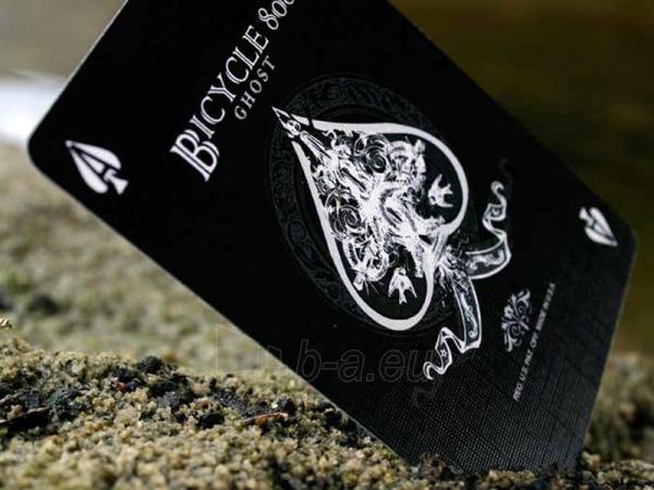Ellusionist Black Ghost Bicycle kortos Paveikslėlis 6 iš 11 251010000265