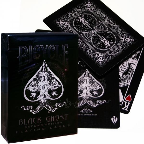 Ellusionist Black Ghost Bicycle kortos Paveikslėlis 2 iš 11 251010000265