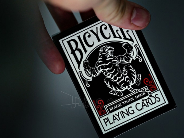 Ellusionist Black Tiger Bicycle kortos Paveikslėlis 7 iš 11 251010000266