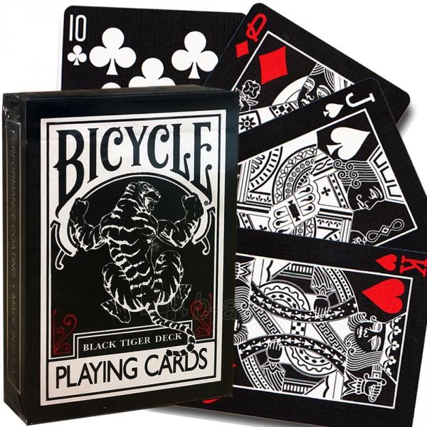 Ellusionist Black Tiger Bicycle kortos Paveikslėlis 11 iš 11 251010000266