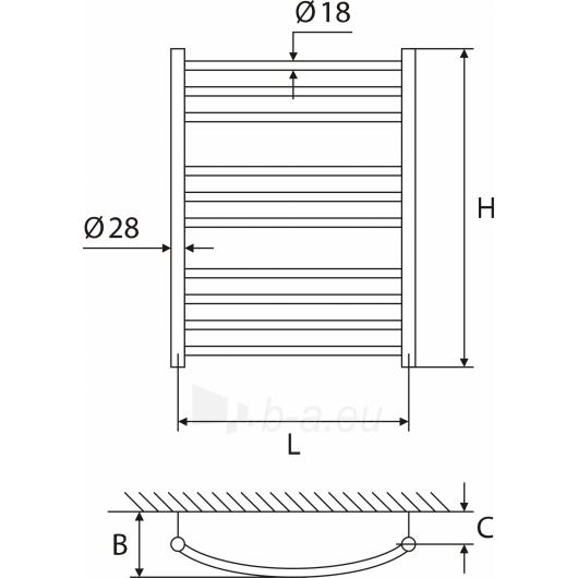 Elonika žalvarinis vandeninis gyvatukas EZ 1047/1050 KL/KLD Paveikslėlis 2 iš 3 270651000387