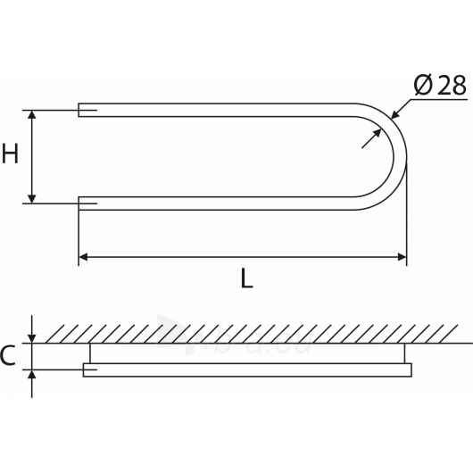 Elonika žalvarinis vandeninis gyvatukas EŽ 200/260/270 S Paveikslėlis 2 iš 4 270651000389