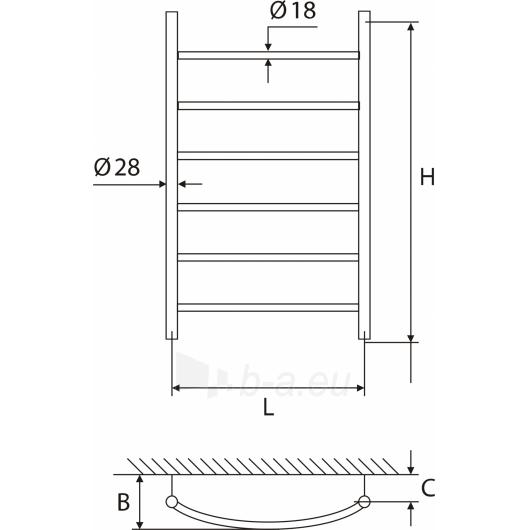 Elonika žalvarinis vandeninis gyvatukas EŽ 650 KL/KLD Paveikslėlis 1 iš 4 270651000394