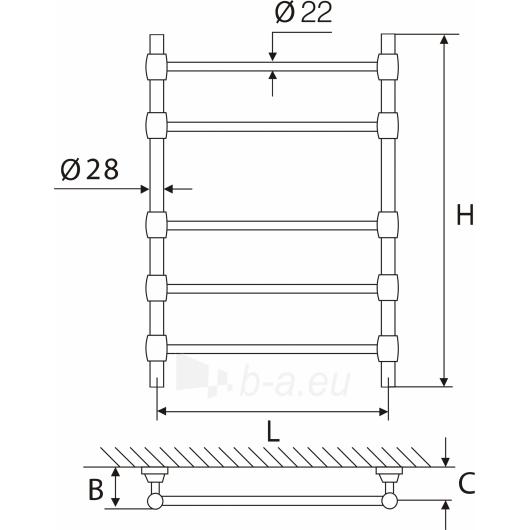 Elonika žalvarinis vandeninis gyvatukas EŽR 550 Paveikslėlis 2 iš 2 270651000397