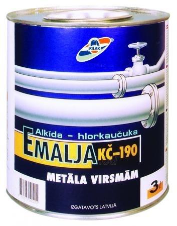 Emalė KČ-190 juoda 2.7L Paveikslėlis 1 iš 1 236520000820