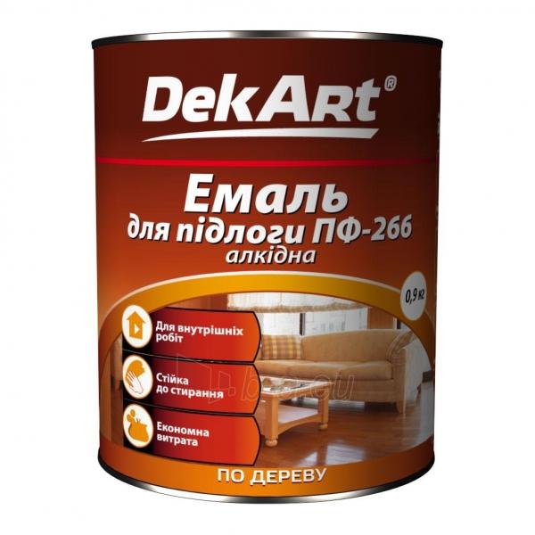 Emalis grindims PF-266 DekART geltonai-rudas 0,9 kg Paveikslėlis 1 iš 1 236550000031