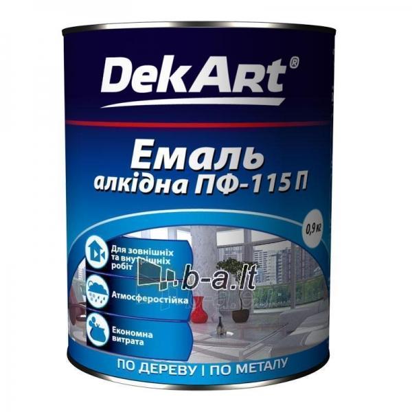 Emalis PF-115P DekART juodas 0,9 kg Paveikslėlis 1 iš 1 236520000757