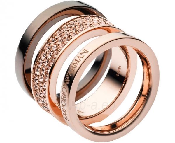 Emporio Armani Luxusní prsten EGS1778221 (Dydis: 59 mm) Paveikslėlis 1 iš 1 30070202484