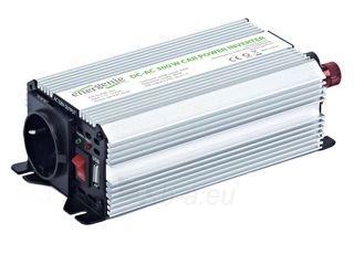 EnerGenie įtampos keitiklis AC/DC 12V (automobilis) į 230V, 300W galia Paveikslėlis 5 iš 5 250256400843
