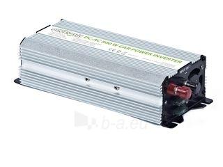 EnerGenie įtampos keitiklis AC/DC 12V (automobilis) į 230V, 500W galia Paveikslėlis 1 iš 4 250256400844