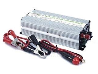 EnerGenie įtampos keitiklis AC/DC 12V (automobilis) į 230V, 500W galia Paveikslėlis 2 iš 4 250256400844