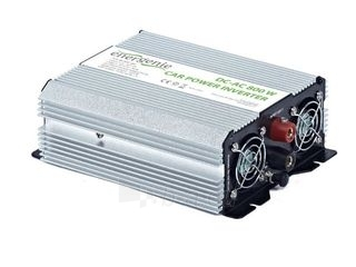 EnerGenie įtampos keitiklis AC/DC 12V (automobilis) į 230V, 800W galia Paveikslėlis 2 iš 3 250256400845