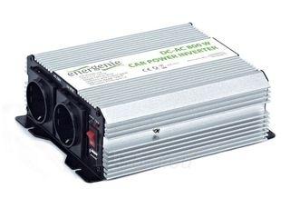 EnerGenie įtampos keitiklis AC/DC 12V (automobilis) į 230V, 800W galia Paveikslėlis 3 iš 3 250256400845