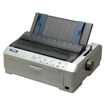 Epson LQ-590 Dot Matrix Printer / 24-pin / High Speed Draft 10CPI: 440 cps / High Speed Draft 12CPI Paveikslėlis 1 iš 1 2502534400009