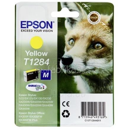 Epson T128 Yellow Cartridge Paveikslėlis 1 iš 1 250256003230