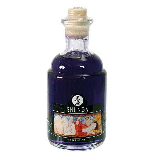Erotinis aliejus Shunga - Vynuogių orgija 100 ml Paveikslėlis 1 iš 2 2514124000119