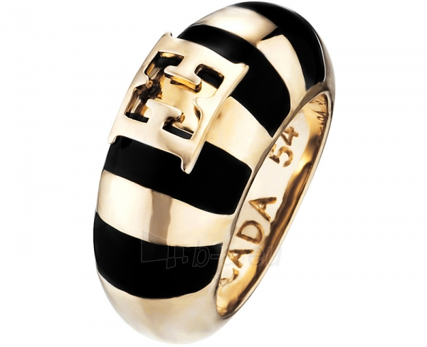 Escada prabangus žiedas Black Meets Gold E67024 (Dydis: 56 mm) Paveikslėlis 1 iš 1 310820023239