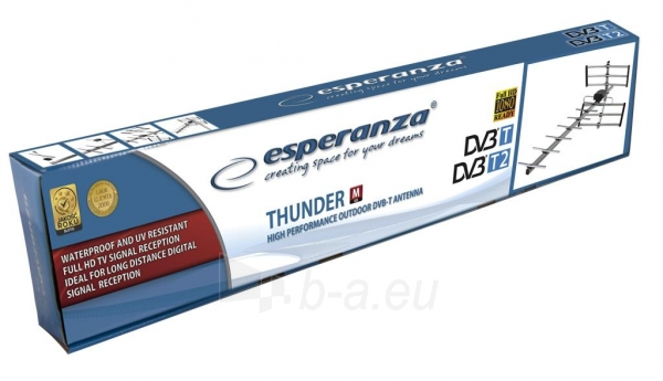 ESPERANYA EAT103 M- Išorinės Antenos DVB-T Paveikslėlis 7 iš 8 310820037302