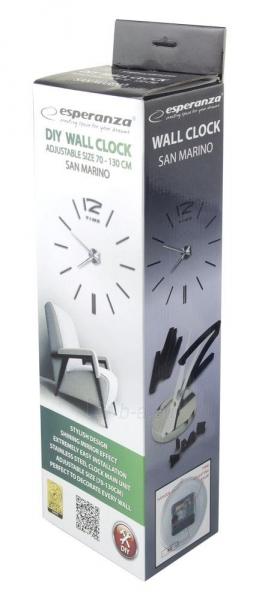 Esperanza EHC007K Sieninis laikrodis - SAN MARINO Paveikslėlis 5 iš 5 310820053918
