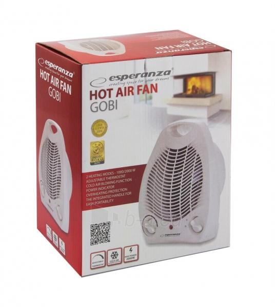 Esperanza EHH001 šildymo ventiliatorius GOBI Paveikslėlis 2 iš 3 310820051067