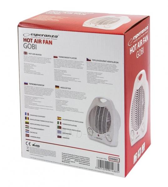 Esperanza EHH001 šildymo ventiliatorius GOBI Paveikslėlis 3 iš 3 310820051067