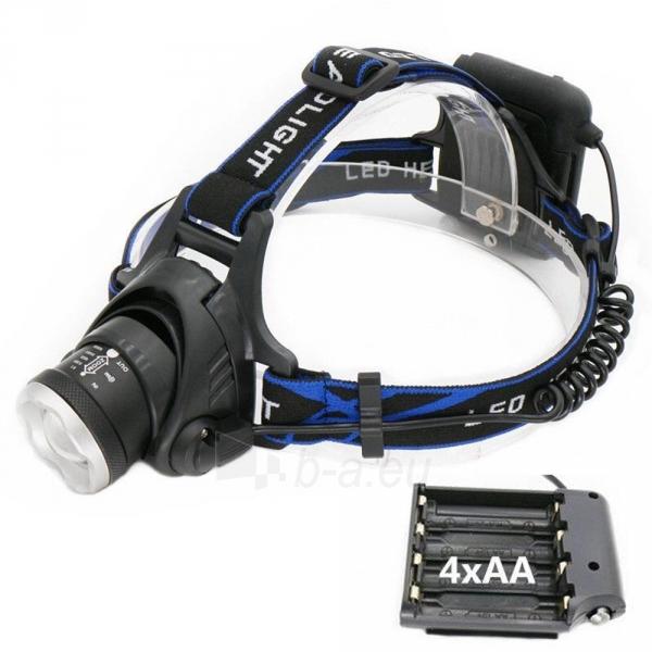 Esperanza EOT005 ORION - žibintuvėlis ant galvos LED T6 Paveikslėlis 4 iš 5 310820118542