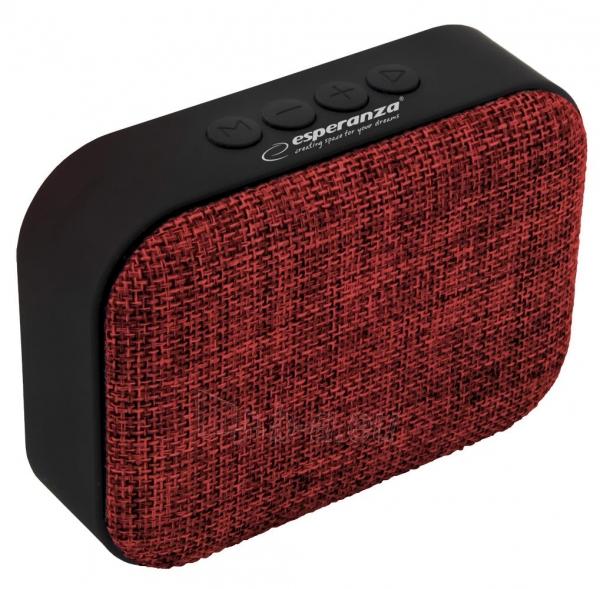 ESPERANZA EP129R SAMBA - Bluetooth kolonėlė su integruotu FM radiju Paveikslėlis 2 iš 4 310820158796