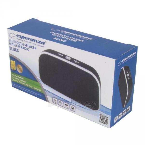 ESPERANZA EP147 BLUES - Bluetooth kolonėlė su integruotu FM radiju Paveikslėlis 4 iš 4 310820158788
