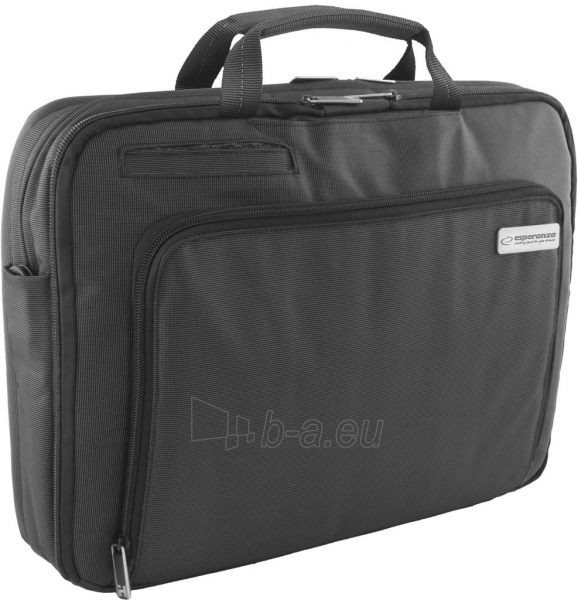ESPERANZA Nešiojamojo kompiuterio krepšys 15,6 ir tabletė ET180 NAPOLI, Juoda Paveikslėlis 1 iš 9 250256202892