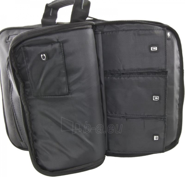 ESPERANZA Nešiojamojo kompiuterio krepšys 15,6 ir tabletė ET180 NAPOLI, Juoda Paveikslėlis 4 iš 9 250256202892