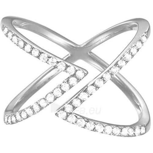 Esprit Fashion sidabrinis ring su cirkoniu ESPRIT-JW50217 (Dydis: 54 mm) Paveikslėlis 1 iš 3 310820023206