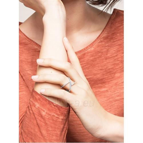 Esprit Fashion sidabrinis žiedas su cirkoniu ESPRIT-JW50217 ROSE (Dydis: 54 mm) Paveikslėlis 2 iš 3 310820023202
