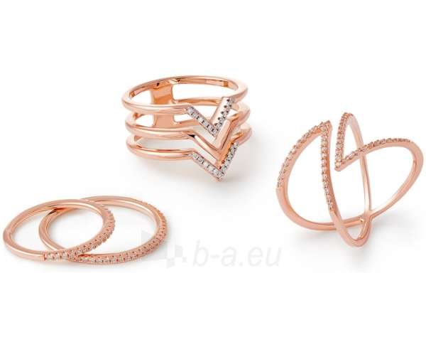 Esprit Fashion sidabrinis žiedas su cirkoniu ESPRIT-JW50217 ROSE (Dydis: 54 mm) Paveikslėlis 3 iš 3 310820023202