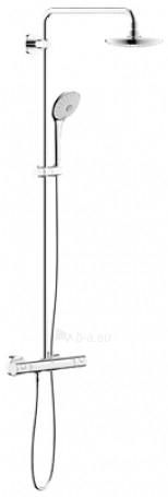 Euphoria dušo sistema su termostatiniu GRT1000C maišytuvu, chromas Paveikslėlis 1 iš 1 270721000187