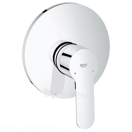 Eurostyle cosmo įmontuojamas dušo maišytuvas su dekoratyvine dalimi, chromas Paveikslėlis 1 iš 1 270722000553