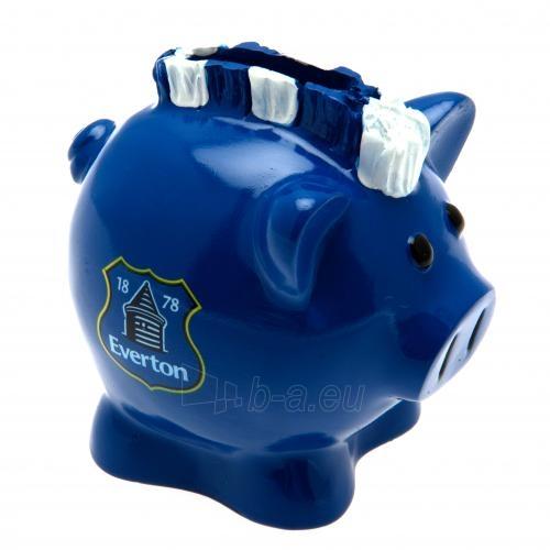 Everton F.C. kiaulė taupyklė (su skiautere) Paveikslėlis 1 iš 3 251009000348