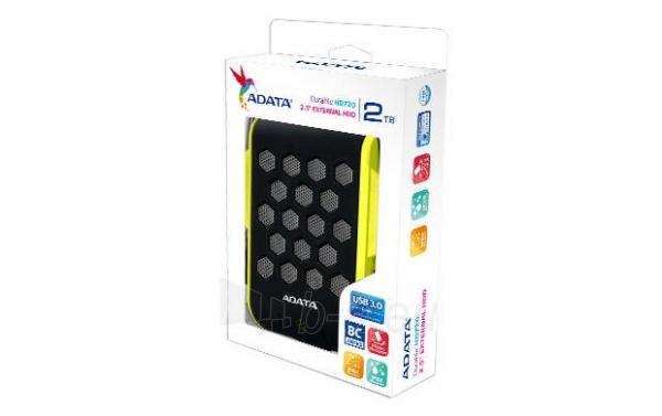 External HDD Adata Durable HD720 2TB USB3 Green, IP68 certificate Paveikslėlis 2 iš 3 250255521828