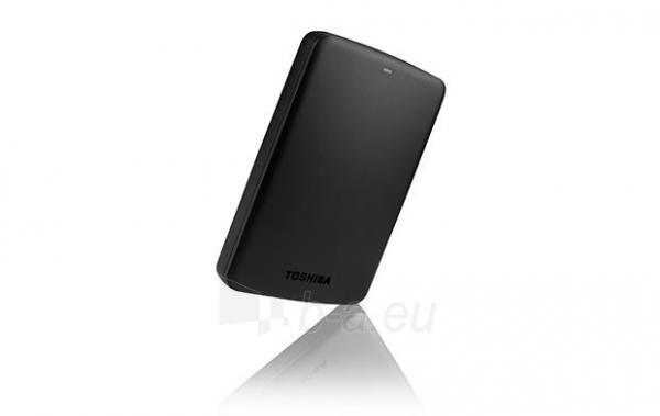 External HDD Toshiba Canvio Basics 2.5 1TB USB3, Black Paveikslėlis 1 iš 6 250255521743