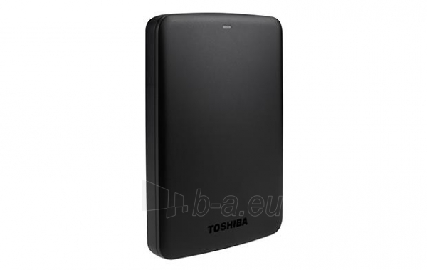 External HDD Toshiba Canvio Basics 2.5 1TB USB3, Black Paveikslėlis 3 iš 6 250255521743