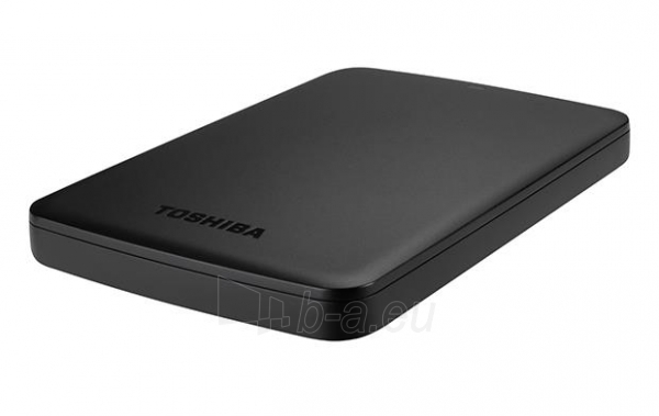 External HDD Toshiba Canvio Basics 2.5 1TB USB3, Black Paveikslėlis 4 iš 6 250255521743