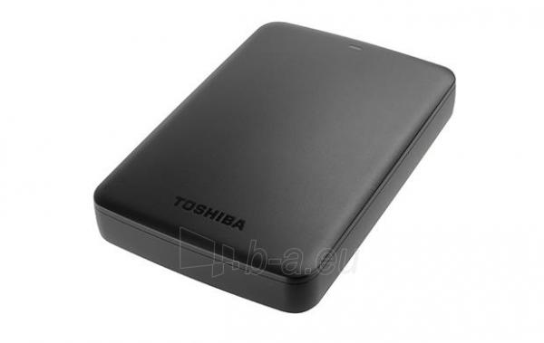 External HDD Toshiba Canvio Basics 2.5 1TB USB3, Black Paveikslėlis 6 iš 6 250255521743