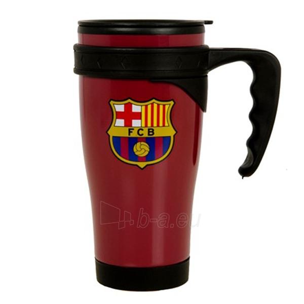 F.C. Barcelona kelioninis puodelis (Bordo) Paveikslėlis 1 iš 2 310820061036