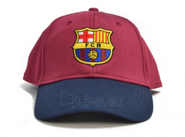 F.C. Barcelona kepurėlė su snapeliu (Raudona su mėlyna) Paveikslėlis 1 iš 6 251009001257