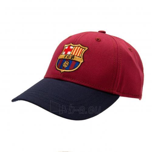 F.C. Barcelona kepurėlė su snapeliu (Raudona su mėlyna) Paveikslėlis 2 iš 6 251009001257