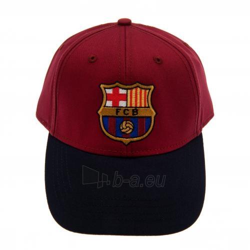 F.C. Barcelona kepurėlė su snapeliu (Raudona su mėlyna) Paveikslėlis 3 iš 6 251009001257
