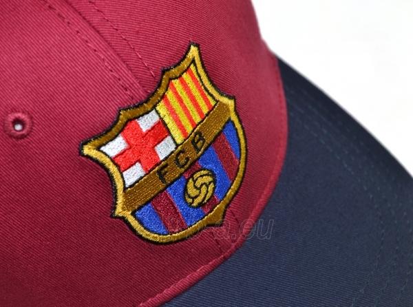 F.C. Barcelona kepurėlė su snapeliu (Raudona su mėlyna) Paveikslėlis 4 iš 6 251009001257